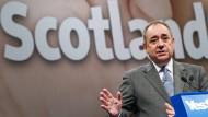 Beim ersten Mal gescheitert: Alex Salmond vor dem schottischen Unabhängigkeitsreferendum 2014