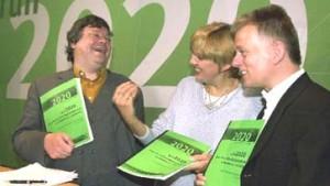 Grüne Partei der linken Mitte