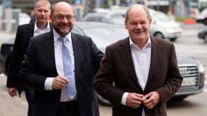 Schulz lobt Scholz-Papier