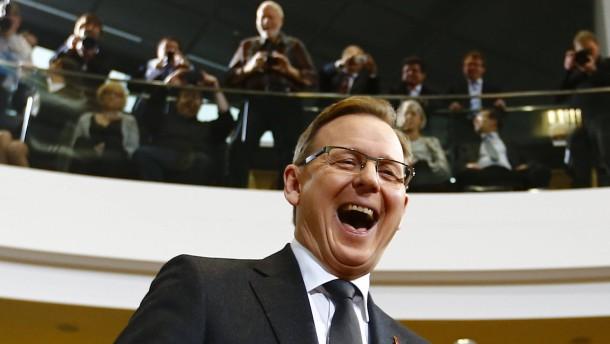 Ramelow setzt sich im zweiten Wahlgang durch