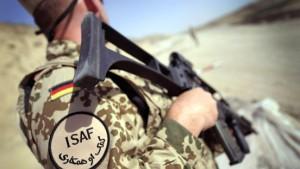Deutsche Soldaten in Gefechte verwickelt