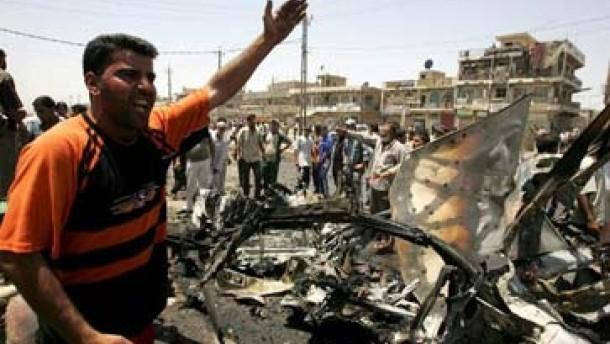 Ausgangssperre in Bagdad
