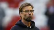 Dämpfer für Klopp und Liverpool