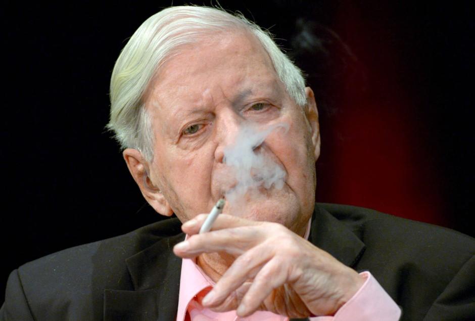 Helmut Schmidt Zigaretten Vorrat