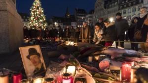 Fünf Festnahmen wegen Anschlags auf Straßburger Weihnachtsmarkt