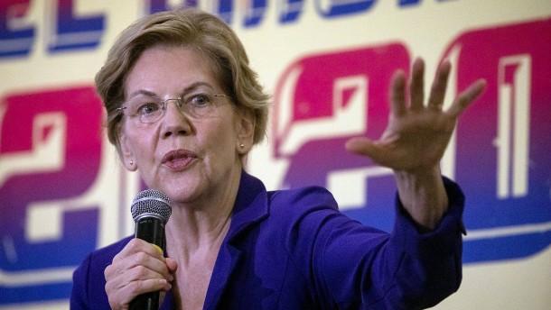 Der Zwei-Fronten-Kampf der Elizabeth Warren