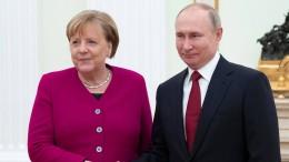 Putin und Merkel sprechen über gemeinsame Impfstoff-Produktion