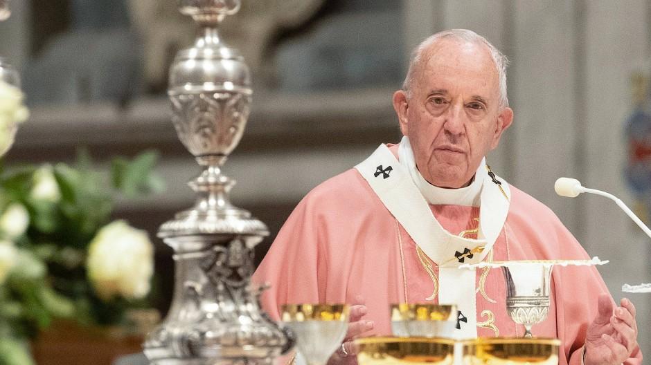 Papst Franziskus feiert am 15. Dezember im Petersdom eine Messe für die philippinische Gemeinschaft.