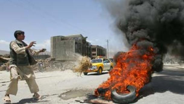 Unruhen und Tote in Kabul