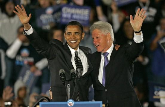 Der frühere Präsident Bill Clinton trat erstmals gemeinsam mit Obama im Wahlkampf auf