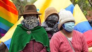 Pattsituation in Ecuador