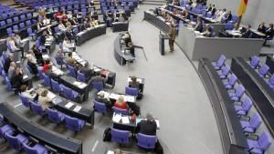 Verbände kritisieren Diätenpläne der Koalition