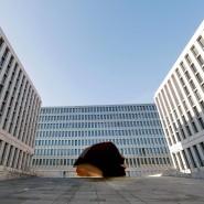 Voller Geheimnisse: Die neue Zentrale des Bundesnachrichtendienstes in Berlin.