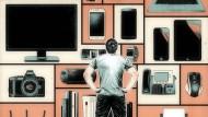 Am meisten schätzen die Deutschen die Möglichkeit, jederzeit online Informationen abzurufen – nur geschieht das zunehmend selektiv und impulsgetrieben