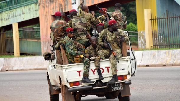 Mutmaßlicher Staatsstreich in Guinea