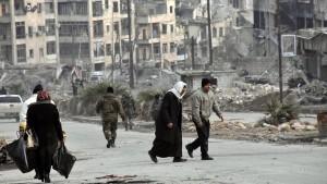 Moskau und Damaskus werfen Rebellen Greueltaten vor