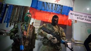 Prorussische Milizen nehmen amerikanischen Journalisten fest