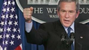 Bush: Truppen bleiben mindestens noch ein Jahr