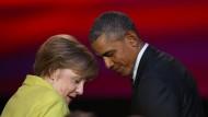 Merkel steht auf der richtigen Seite der Geschichte