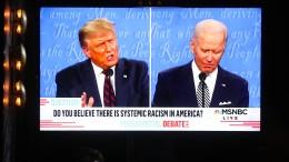 Wo Trump log und Biden flunkerte