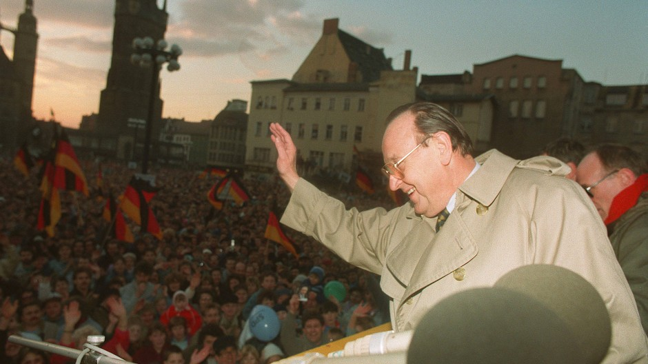 Hans-Dietrich Genscher in Halle