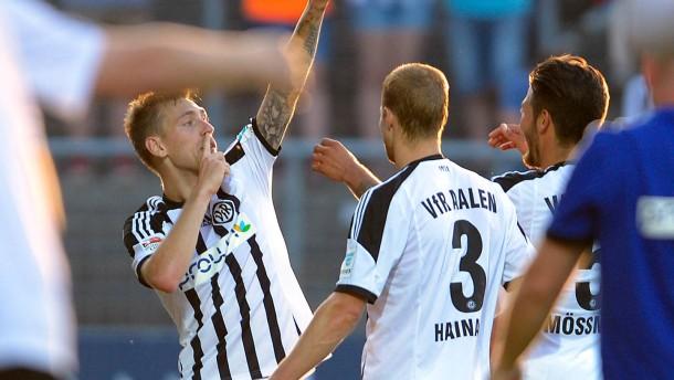 Aalen und Karlsruhe gewinnen, Berlin spielt unentschieden