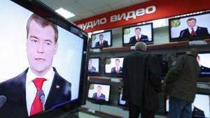 """Medwedjew: """"Vorwärts Russland!"""""""