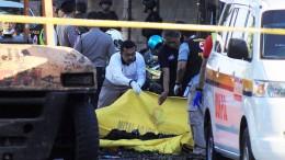 Anschlagsserie auf Kirchen in Indonesien