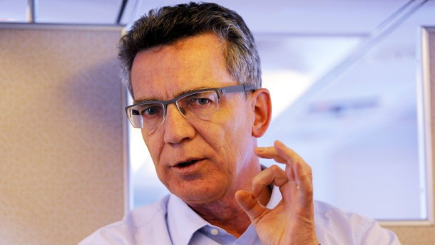 Verteidigungsminister Thomas de Maiziere