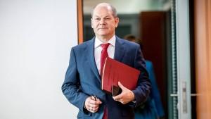 Scholz verteidigt Erhöhung der Parteienfinanzierung
