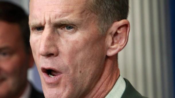 McChrystal verunglimpft Vizepräsident Biden