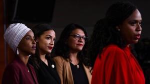 Wie linke Demokraten Biden unter Druck setzen wollen