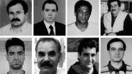 Muss Gewalt gegen Deutschtürken einen türkischen Hintergrund haben? Die Logik der Ermittler drangsalierte die Hinterbliebenen. Im Bild die acht Mordopfer Enver Simsek, Abdurrahim Özüdogru und Habil Kilic (oben, v.l.), sowie Yunus Turgut, Ismail Yasar, Theodorus Boulgarides und Mehmet Kubasik (unten, v.l)
