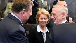 Nato und Amerika loben Bundesregierung für höhere Verteidigungsausgaben