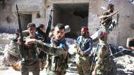 Aleppo geht im Bombenhagel unter