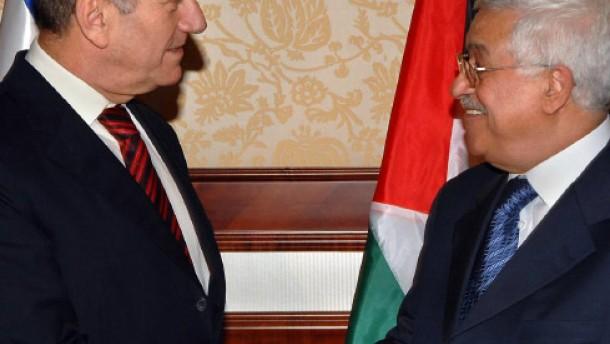 Olmert trifft Abbas in Jericho