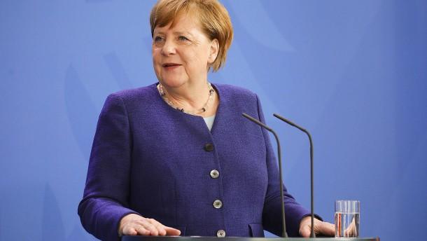 Merkel warnt vor wirtschaftlicher Abschottung