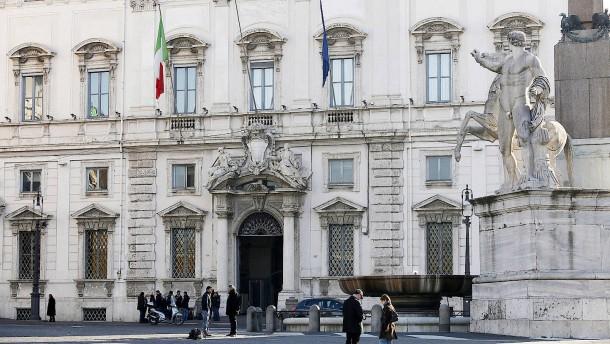 Italien wartet auf ein Urteil
