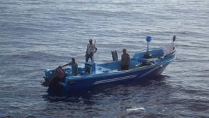 Vier Fischer nach einem Monat aus Seenot gerettet
