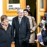 Hat den Durchmarsch der Populisten vorerst gestoppt: Alexander Van der Bellen