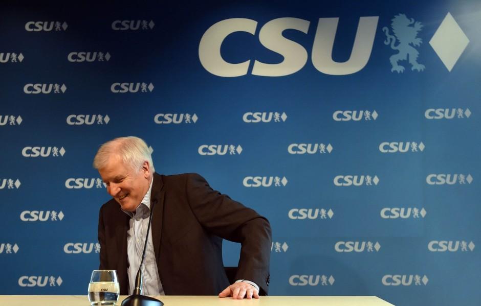 Gute Laune: Horst Seehofer (CSU)