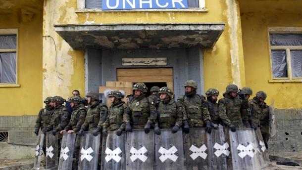 Bundeswehr entsendet schnelle Eingreiftruppe