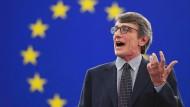 Der neue EU-Parlamentspräsident David Sassoli