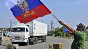 Washington fordert sofortigen russischen Rückzug