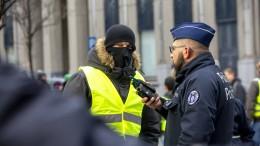 """Weniger """"Gelbwesten"""" protestieren in Frankreich"""