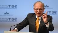 Wolfgang Ischinger, Ex-Diplomat und Chef der der Münchner Sicherheitskonferenz