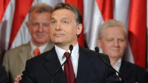 Es wird ernst für Viktor Orbán