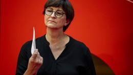 Ein Gespenst geht um in Deutschland – Saskia Esken