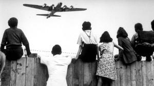 Als die Bomber Rosinen abwarfen