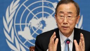 Ban Ki-moon zu zweiter Amtszeit gewählt